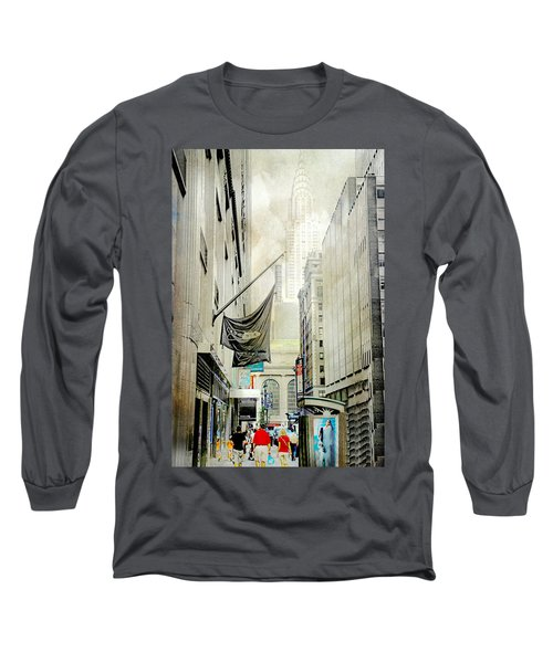 Long Sleeve T-Shirt featuring the photograph Back To You by Diana Angstadt