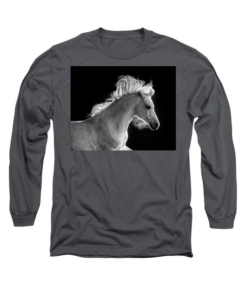 Backlit Arabian Long Sleeve T-Shirt by Wes and Dotty Weber