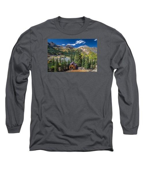 Backroads In San Juan Mountains Long Sleeve T-Shirt by Michael J Bauer