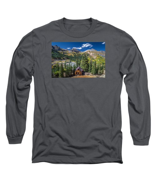 Backroads In San Juan Mountains Long Sleeve T-Shirt