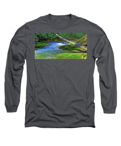 Backwoods Stream Long Sleeve T-Shirt