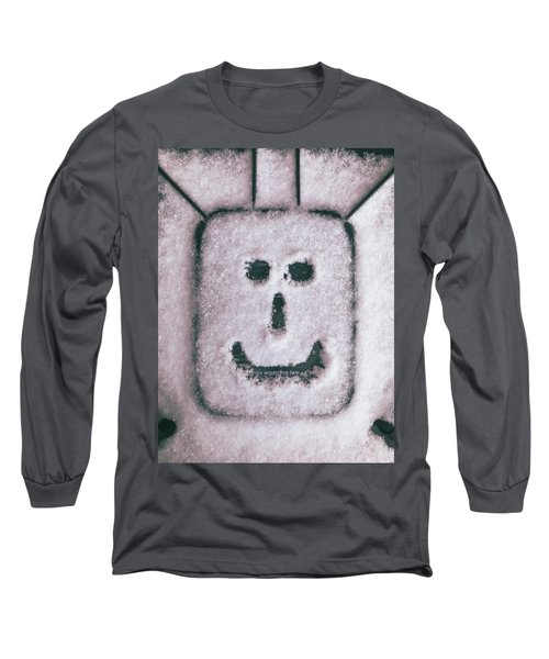 Bad Weather, Good Face Long Sleeve T-Shirt