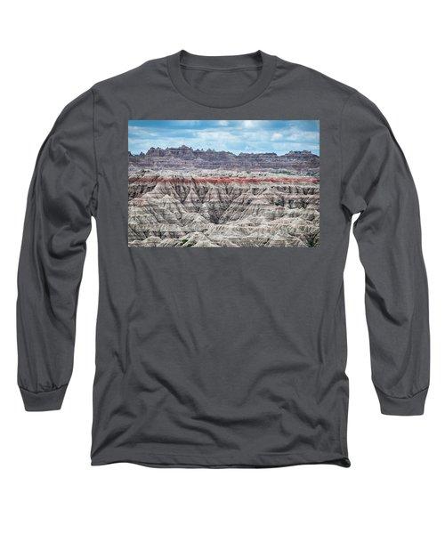 Badlands National Park Vista Long Sleeve T-Shirt