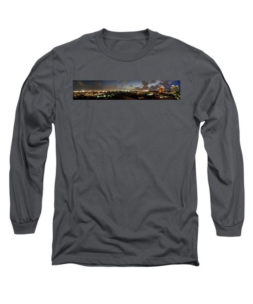 Long Sleeve T-Shirt featuring the photograph Bahama Night by Jerry Battle