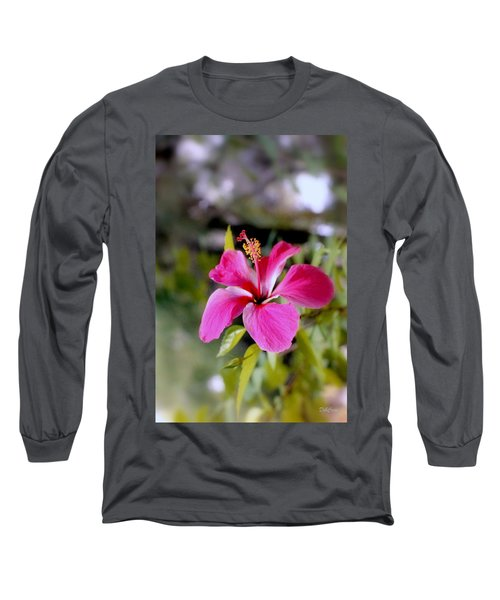 Bahamian Flower Long Sleeve T-Shirt