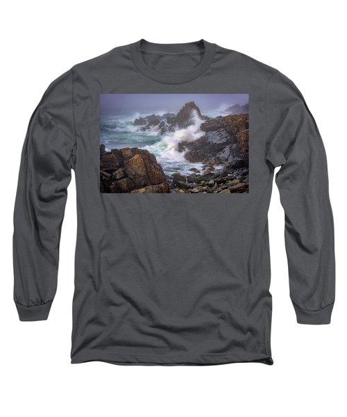 Bailey Island Coastline Long Sleeve T-Shirt