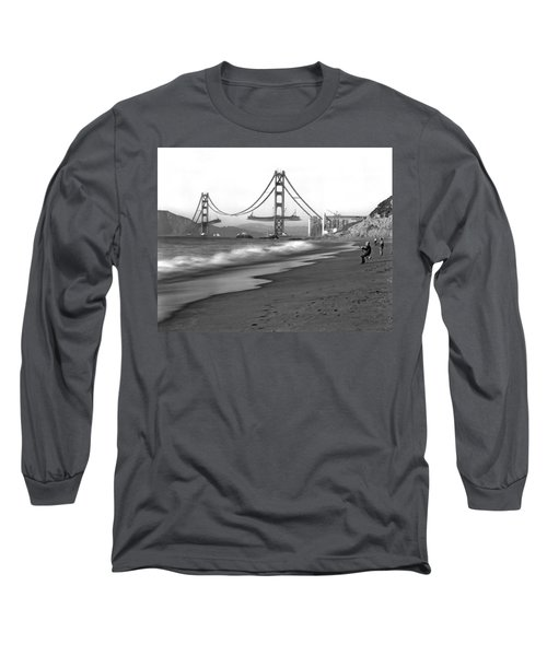 Baker Beach In Sf Long Sleeve T-Shirt