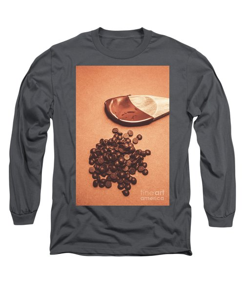 Baking Desserts With Chocolate Long Sleeve T-Shirt