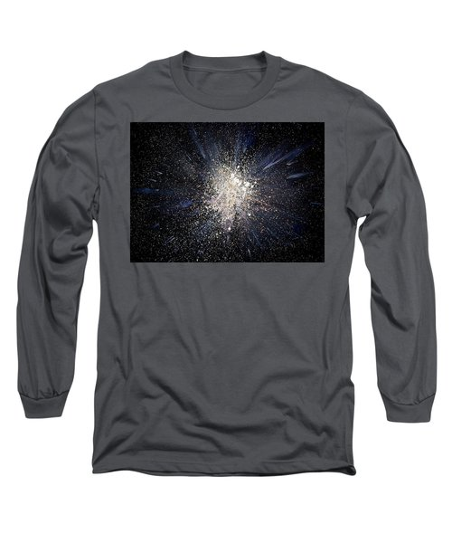 Long Sleeve T-Shirt featuring the painting Balance by Michael Lucarelli