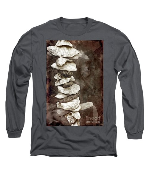 Balanced Long Sleeve T-Shirt by Ellen Cotton