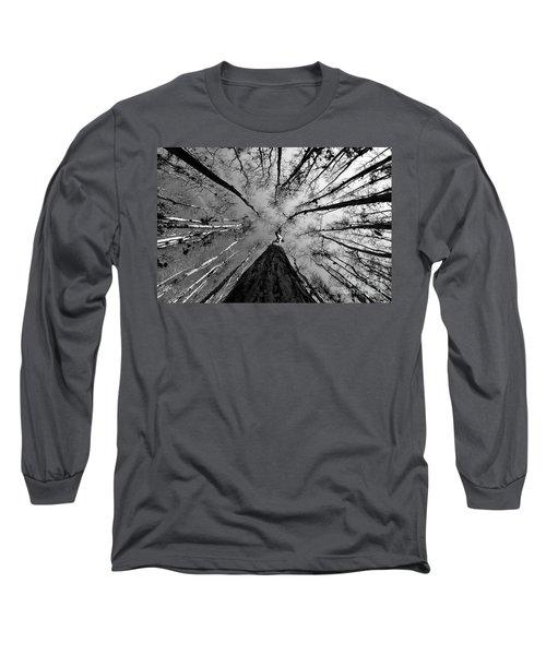 Bald Cypress Sky Long Sleeve T-Shirt