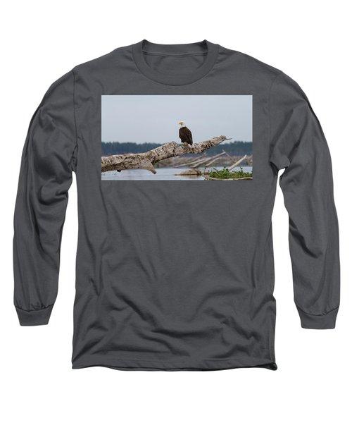Bald Eagle #1 Long Sleeve T-Shirt