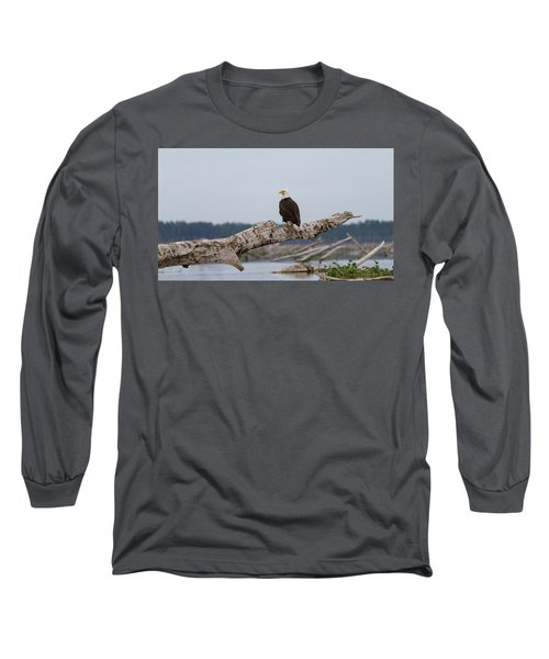 Bald Eagle #1 Long Sleeve T-Shirt