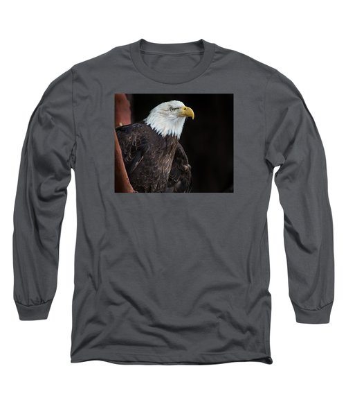 Bald Eagle Intensity Long Sleeve T-Shirt