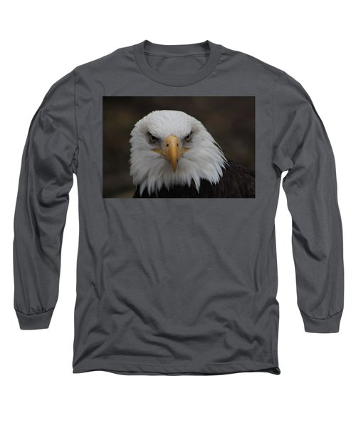 Bald Eagle Stare  Long Sleeve T-Shirt