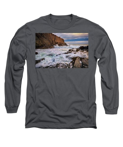 Long Sleeve T-Shirt featuring the photograph Bald Head Cliff by Rick Berk