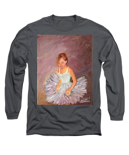 Ballerina  Long Sleeve T-Shirt