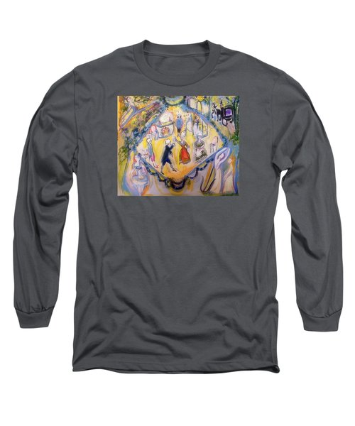 Balletic Kaleidoscope  Long Sleeve T-Shirt