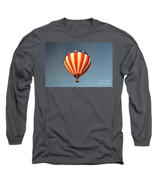 Long Sleeve T-Shirt featuring the photograph Ballons Over Tampa by John Black