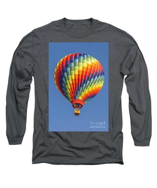 Ballooning In Color Long Sleeve T-Shirt by Anthony Sacco