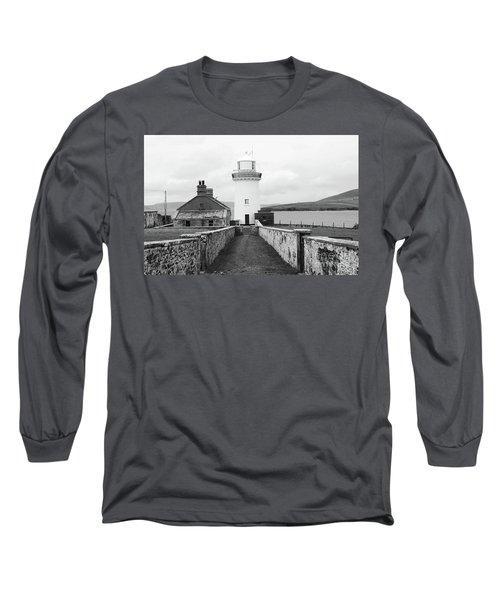 Ballyglass Lighthouse Mono Long Sleeve T-Shirt