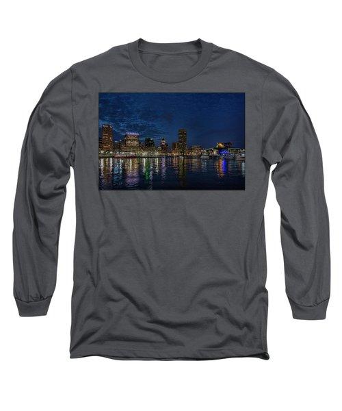 Baltimore Harbor Long Sleeve T-Shirt