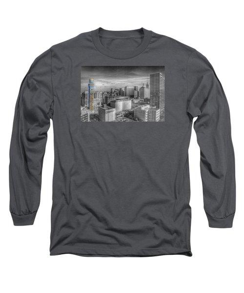 Baltimore Landscape - Bromo Seltzer Arts Tower Long Sleeve T-Shirt