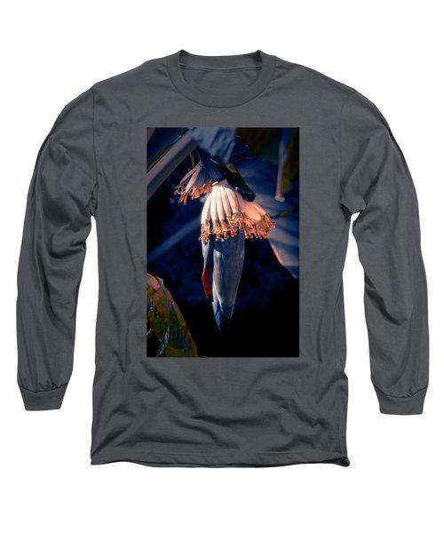 Banana Palm Flowers Long Sleeve T-Shirt by Konstantin Sevostyanov