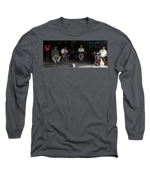 Band With Pink Girl Long Sleeve T-Shirt
