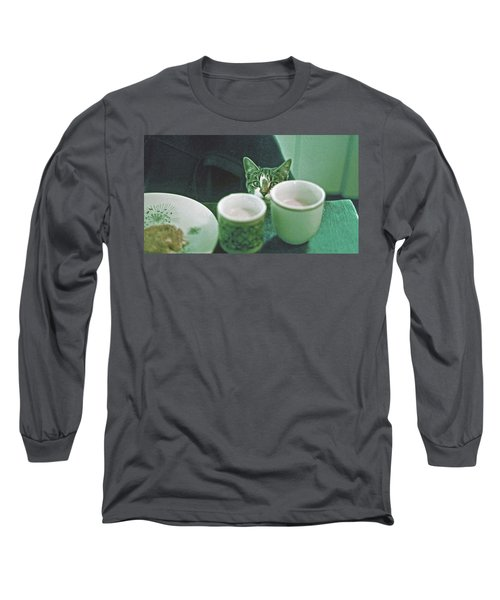 Bandit Long Sleeve T-Shirt by Laurie Stewart