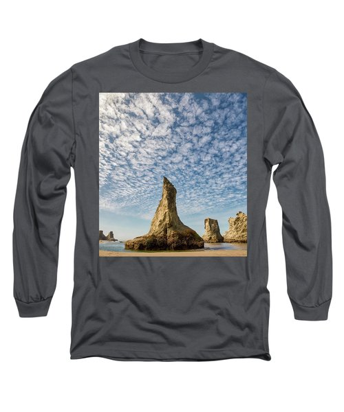 Bandon Sea Stacks Long Sleeve T-Shirt