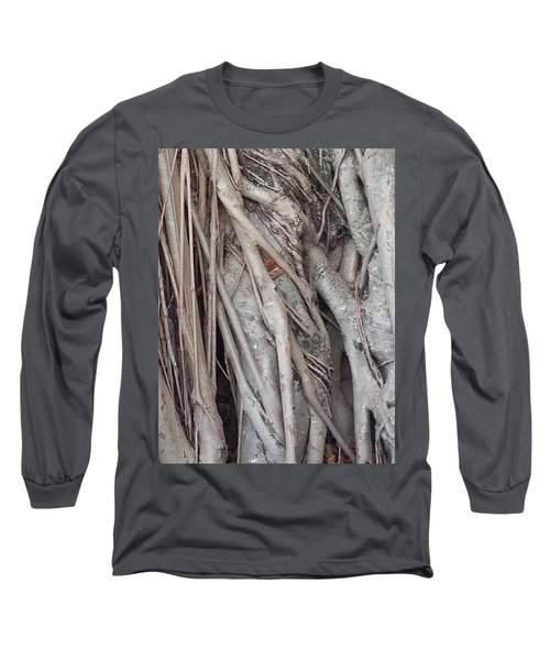 Banyan In Maui Long Sleeve T-Shirt