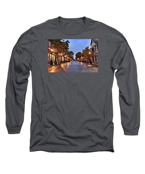 Bar Harbor - Maine Long Sleeve T-Shirt by Brendan Reals