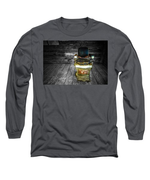 Ghost Town Barber Chair No. 1 Long Sleeve T-Shirt