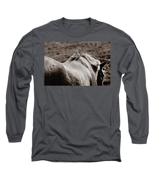 Bareback Long Sleeve T-Shirt by Angela Rath