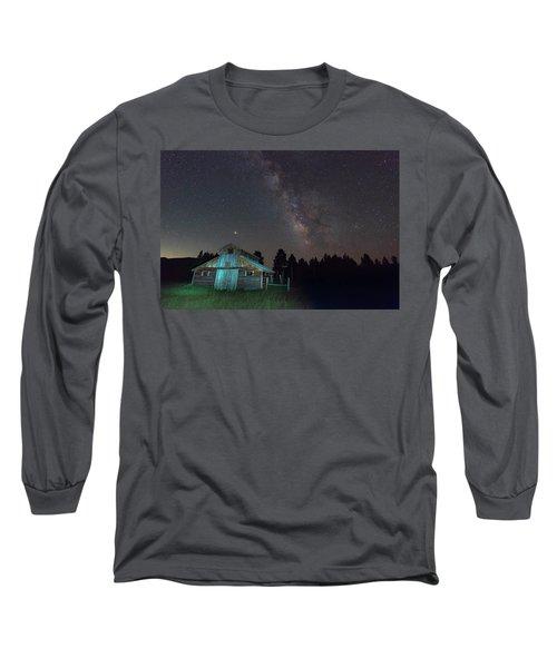 Barn In Rocky Long Sleeve T-Shirt