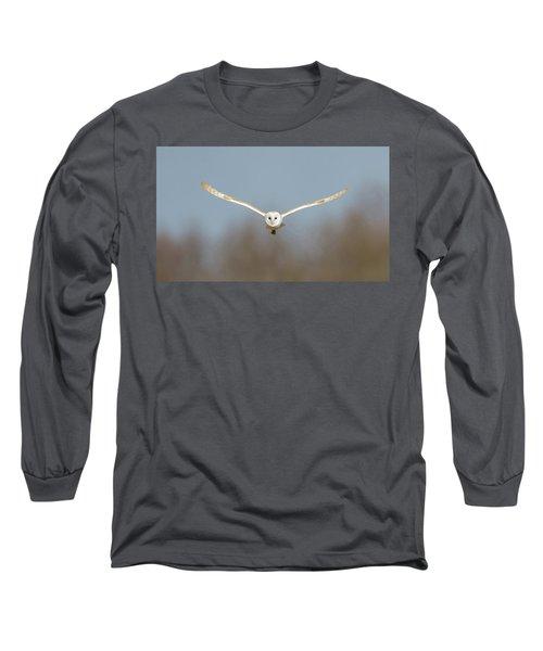 Barn Owl Sculthorpe Moor Long Sleeve T-Shirt