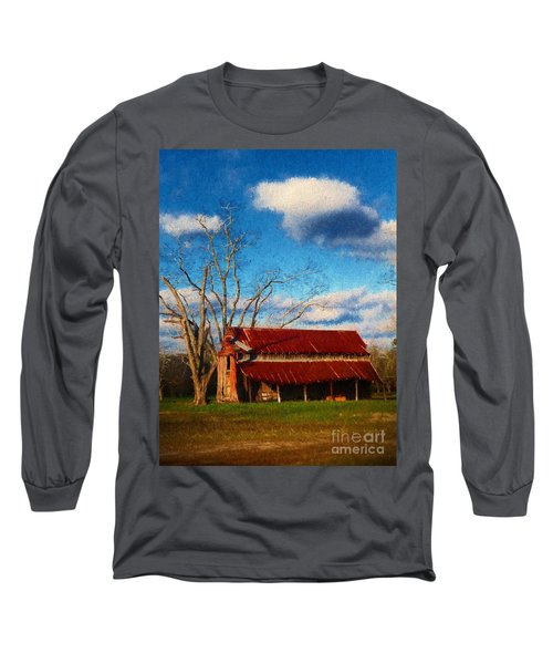 Red Roof Barn 2 Long Sleeve T-Shirt