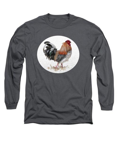 Barnyard Boss Long Sleeve T-Shirt by Lois Bryan