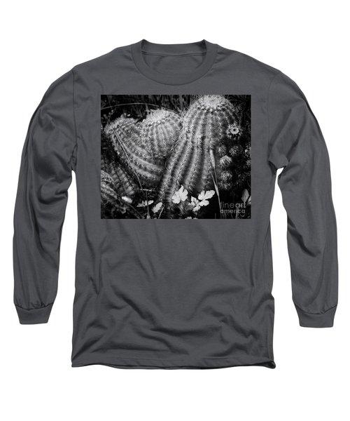 Barrel Cactus Long Sleeve T-Shirt by Toma Caul