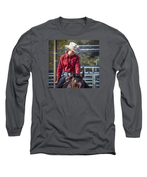 Barrel Racer Long Sleeve T-Shirt