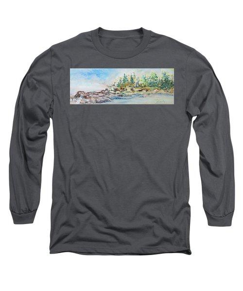 Barrier Bay Long Sleeve T-Shirt by Joanne Smoley