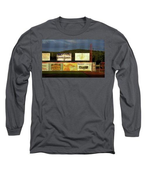 Baseball Sunset 2005 Long Sleeve T-Shirt by Frank Romeo