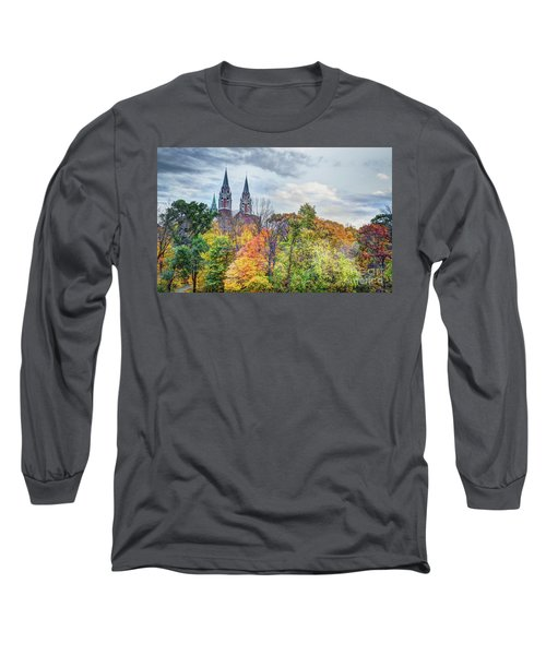 Basilica Of Holy Hill National Shrine Of Mary Long Sleeve T-Shirt