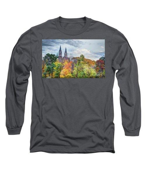 Basilica Of Holy Hill National Shrine Of Mary Long Sleeve T-Shirt