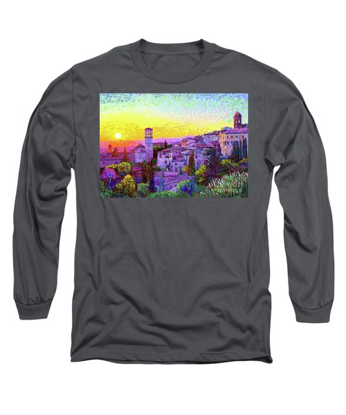 Basilica Of St. Francis Of Assisi Long Sleeve T-Shirt