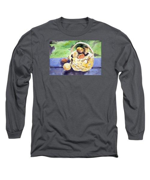 Basket Of Fruit Long Sleeve T-Shirt