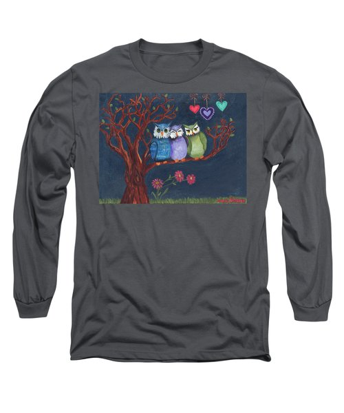Basking In The Midnight Sparkle Long Sleeve T-Shirt