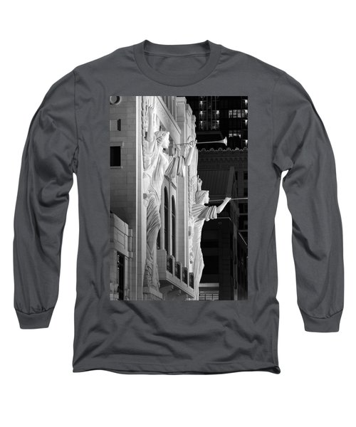 Bass Hall Fort Worth 520 Bw Long Sleeve T-Shirt