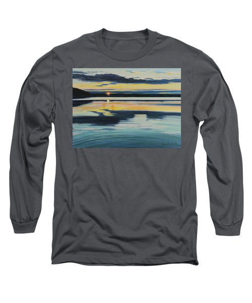 Bass Lake Sunset Long Sleeve T-Shirt
